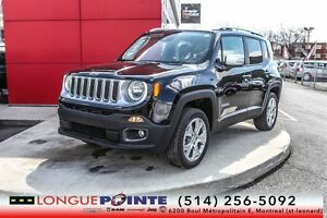2015 Jeep Renegade Limited CUIR +GPS