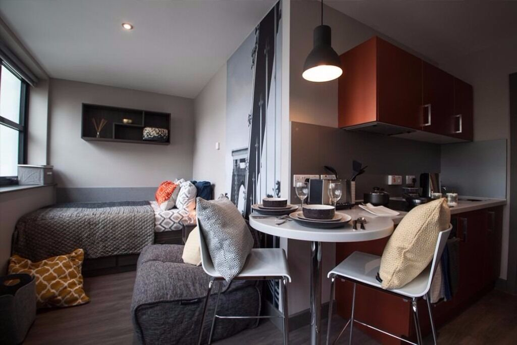 studio flat to rent in bristol city center fully. Black Bedroom Furniture Sets. Home Design Ideas