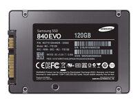 "120GB/500GB 2.5"" Laptop SSD's - Samsung EVO"