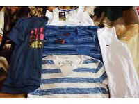 Men's T shirts lot bundle all brand NEW Size S