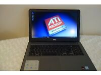 8 Weeks Old Intel i7 7th Gen, Dell Gaming Laptop, Warranty, 4GB Graphics DDR5 , SSD, Full HD