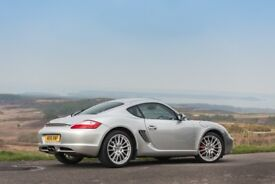 Porsche Cayman S - Manual - 295bhp - High Spec