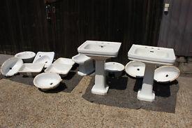 Sink Joblot of 12 Sinks and 1 Bidet