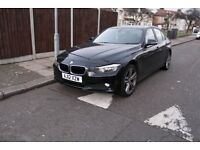 BMW 320D 2012 EFFICIENT DYNAMICS 2.0 DIESEL 4DOOR ROAD TAX ONLY £20 PER YEAR FULL SERVICE HISTORY