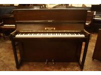 Upright piano in a mahogany case - Tuned & UK delivery available