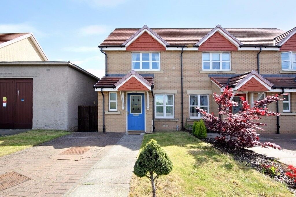 Modern, 2 bedroom, semi-detached house in Broomhouse available November!