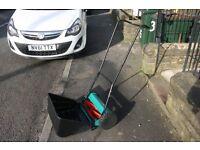 Lawnmower Bosch push mower as new