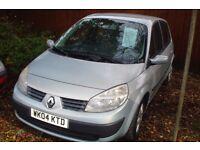 Renault Scenic Rush 2004-04-plate,127,000 miles, 1500cc turbo diesel , new mot