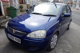 Vauxhall Corsa Design 1.4 Litre (Auto.) Hatchback (Petrol) in blue