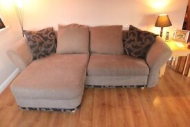 4 seater and large 2 seater sofa