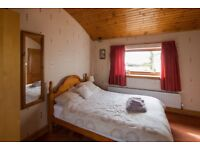 Double Ensuite Furnished Room for Rent in Large house, 5 mins from Hunterston, Near Beach.