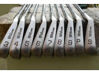 Wilson 1200 Mens steel shafted irons