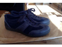 ECCO Womens Shoes, size 5, dark blue