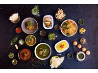 Experienced Waiter, Indian Restaurant, Immediate Start, Great Pay