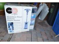 Unused Patio Stainless Steel Heater