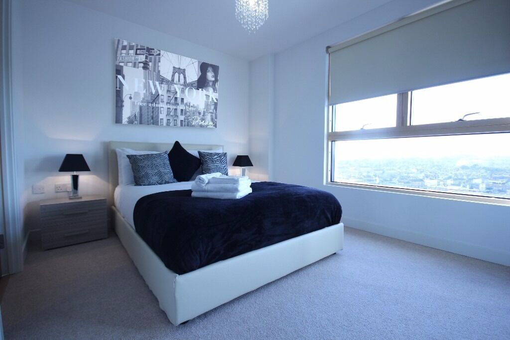 **Modern serviced 1 bedroom in central Reading - Incl. bills, maid service, free wifi - Book now!