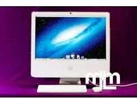"WHITE 17"" APPLE IMAC COMPUTER 1.83GHZ 2GB 160GB ABLETON LOGIC PRO 9 FINAL CUT PRO X MICROSOFT OFFICE"