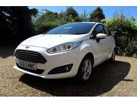 2014 Ford Fiesta 1.6 Powershift - low mileage - In stunning white- showroom condition inside & out.