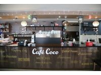 Well established italian coffee house /café lease for sale in south side of Glasgow 5 years running