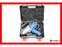 +++ ELECTRIC IMPACT WRENCH RIPPER 2300W 800NM WITH THE SET WITH 4 NUTS AND HANDY CASE +++
