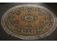 2 THICK PILE SCULPTURED RUGS AS NEW!! IN EXCELLENT CONDITION! 1 LARGE 1 A LITTLE SMALLER