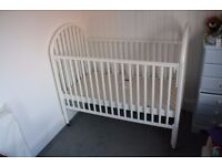 ***FREE**** Baby Cot - movable sides 130x70cm mattress would be required *****FREE*******