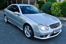 MERCEDES CLK55 AMG 5.4 V8, FSH, 94K, (COMPETITOR TO THE BMW E46 M3)