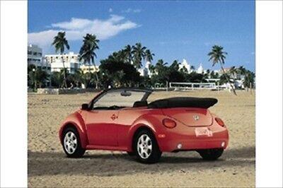 1998-2010 VW Volkswagen New Beetle Convertible Boot Top Cover BLACK GENUINE OEM
