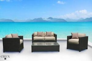 Receive a FREE Gift (up to $399.99 value) with Purchase of Cieux Outdoor Patio Furniture Set In Stock In Vancouver