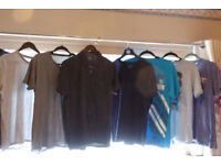 11 T/shirts . some brand new