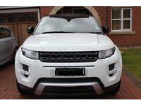 Range Rover Evoque Dynamic Lux in Fuji White