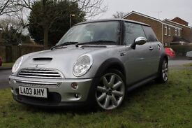Stunning Mini Cooper S with £5000 k of factory extras 175 bhp £3325