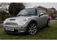 Stunning Mini Cooper S with £5000 k of factory extras 175 bhp £3595