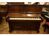 Upright piano, in mahogany case, tuned & delivery available UK wide