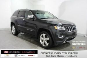 2016 Jeep GRAND CHEROKEE Limited 4X4  CUIR TOIT CAM DE RECUL