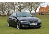 BMW 335D COUPE 3.0L DIESEL AUTOMATIC! 1 YEAR MOT! PADDLE SHIFTER! FULL SERVICE HISTORY! 330 320 530