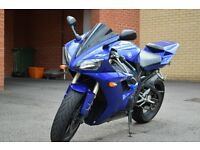 Yamaha r1 only done 18647miles