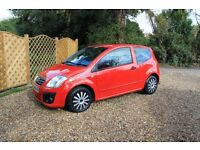 Citroen C2 i Rhythm 2009 (46,000) Red