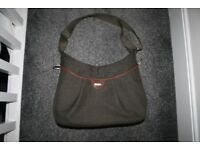 Mamas and Papas Ellis Changing Bag Green Khaki Tweed CAN POST