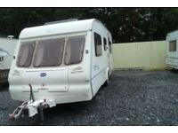 bailey ranger 2003 5 berth touring caravan