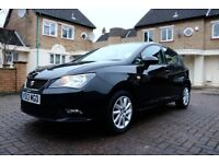 SEAT IBIZA 1.2 TSI SE DSG AUTOMATIC 5DR HATCHBACK SATNAV FSH HPI CLEAR EXCELLENT CONDITION
