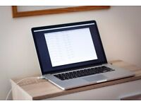 MacBook Pro (Retina, 15-inch, Mid 2014) 2.5GHz Intel Core i7 - 16GB RAM - 512GB SSD - NVIDIA GT 750M