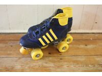 Retro roller boots - size 5 in v. good condition..