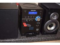 dab radio/usb/sd/cd/ipod dock/dab antenna can be seen working