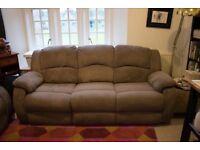 Fabric Sofa recliner
