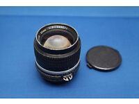 Nikkor 85mm f2 Portrait lens