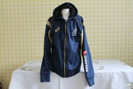 Blue/Gold 'Wallabies Rugby Hoodie Size M
