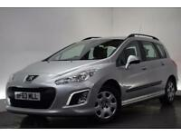 PEUGEOT 308 1.6 HDI SW ACCESS 5d 92 BHP (silver) 2013