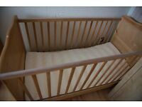 Used Cot Bed - Great condition
