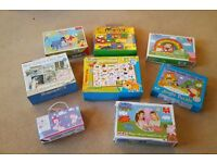 children's games and jigsaws